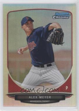 2013 Bowman - Prospects Chrome - Refractor #BCP80 - Alex Meyer /500