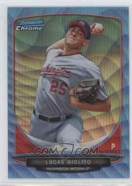 2013 Bowman - Prospects Chrome - Wrapper Redemption Blue Wave Refractor #BCP5 - Lucas Giolito