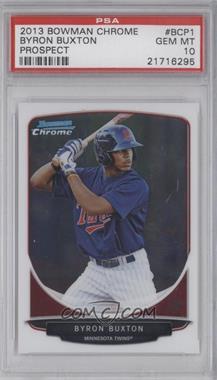 2013 Bowman - Prospects Chrome #BCP1 - Byron Buxton [PSA10]