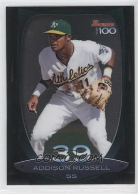 2013 Bowman - Top 100 Prospects #BTP-39 - Addison Russell