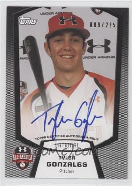 2013 Bowman - Under Armour All-American Certified Autographs #UA-TG - Tyler Gonzales /225
