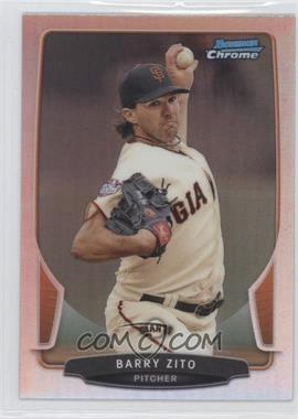 2013 Bowman Chrome - [Base] - Refractor #85 - Barry Zito