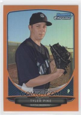 2013 Bowman Chrome - Prospects - Orange Refractor #BCP194 - Tyler Pike /25