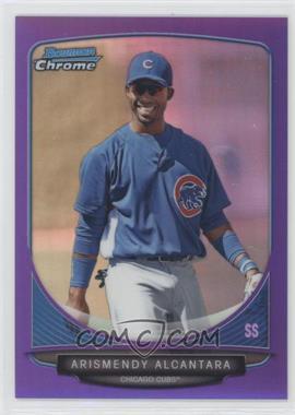 2013 Bowman Chrome - Prospects - Purple Refractor #BCP119 - Arismendy Alcantara /199