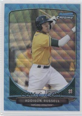 2013 Bowman Chrome - Prospects - Wrapper Redemption Blue Wave Refractor #BCP113 - Addison Russell