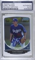 Corey Seager (Fielding) [PSA/DNA Certified Encased]