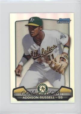 2013 Bowman Chrome - Risin' thru the Ranks Refractor #RTR-AR - Addison Russell