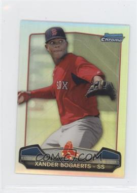 2013 Bowman Chrome - Risin' thru the Ranks Refractor #RTR-XB - Xander Bogaerts