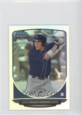 2013 Bowman Chrome Minis - [Base] - Refractor #11 - Riley Unroe /125