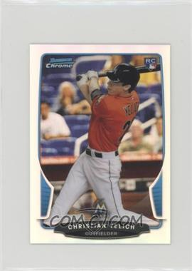 2013 Bowman Chrome Minis - [Base] - Refractor #318 - Christian Yelich /125