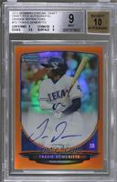 Travis Demeritte [BGS 9 MINT] #/25