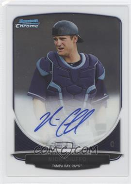 2013 Bowman Draft Picks & Prospects - Chrome Prospect Autographs #BCA-NC - Nick Ciuffo
