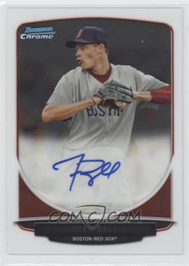 2013 Bowman Draft Picks & Prospects - Chrome Prospect Autographs #BCA-TB - Trey Ball