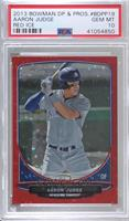 Aaron Judge [PSA 10 GEM MT] #/25