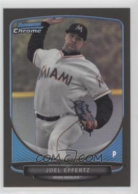2013 Bowman Draft Picks & Prospects - Draft Picks Chrome - Black Refractor #BDPP126 - Joel Effertz /35