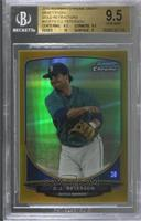 D.J. Peterson [BGS 9.5 GEM MINT] #/50