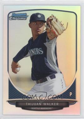 2013 Bowman Draft Picks & Prospects - Top Prospects Chrome - Refractor #TP-15 - Taijuan Walker