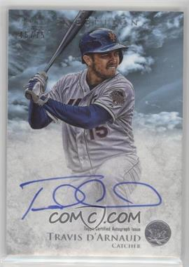 2013 Bowman Inception - Prospect Autographs - Blue #PA-TD - Travis d'Arnaud /75
