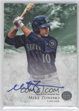 2013 Bowman Inception - Prospect Autographs - Green #PA-MZ - Mike Zunino /25