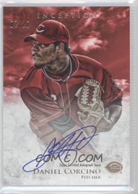 2013 Bowman Inception - Prospect Autographs - Red #PA-DC - Daniel Corcino /10