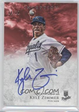 2013 Bowman Inception - Prospect Autographs - Red #PA-KZ - Kyle Zimmer /10