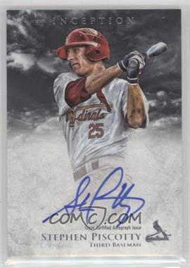 2013 Bowman Inception - Prospect Autographs #PA-SP - Stephen Piscotty