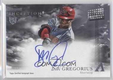 2013 Bowman Inception - Rookie Autographs #RA-DG - Didi Gregorius