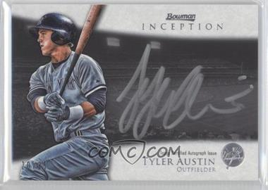 2013 Bowman Inception - Silver Signings Autographs - [Autographed] #SS-TA - Tyler Austin /25