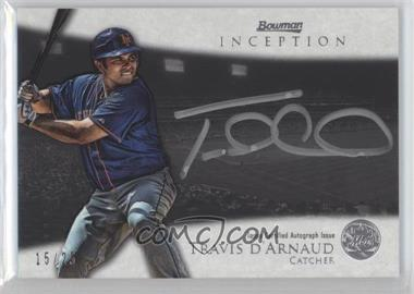 2013 Bowman Inception - Silver Signings Autographs - [Autographed] #SS-TD - Travis d'Arnaud /25