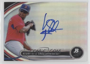 2013 Bowman Platinum - Autographed Prospects #BPAP-KD - Keury De La Cruz