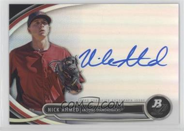 2013 Bowman Platinum - Autographed Prospects #BPAP-NA - Nick Ahmed