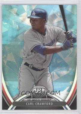 2013 Bowman Platinum - [Base] - Blue Sapphire #15 - Carl Crawford