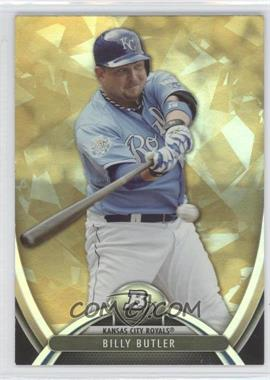 2013 Bowman Platinum - [Base] - Gold #72 - Billy Butler