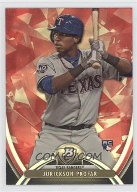 2013 Bowman Platinum - [Base] - Ruby #100 - Jurickson Profar