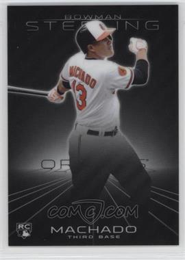 2013 Bowman Sterling - [Base] #10 - Manny Machado