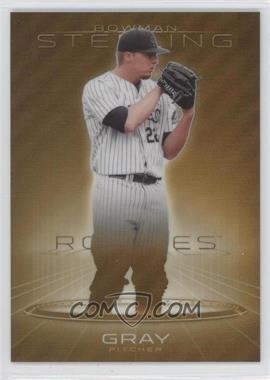 2013 Bowman Sterling - Prospects - Gold Refractors #BSP-50 - Jonathan Gray /50