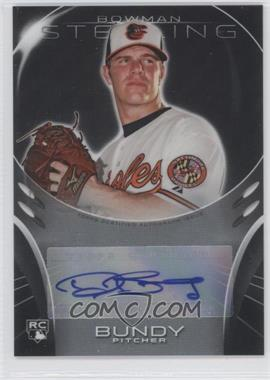 2013 Bowman Sterling - Rookie Certified Autographs #BSAR-DB - Dylan Bundy