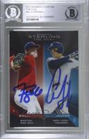 Trey Ball, Aaron Judge [BAS Certified BGS Encased]