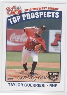 2013 Choice Midwest League Top Prospects - [Base] #04 - Taylor Guerrieri