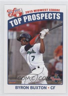 2013 Choice Midwest League Top Prospects - [Base] #07 - Byron Buxton