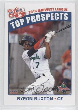 2013 Choice Midwest League Top Prospects - [Base] #07 - Byron Buxton