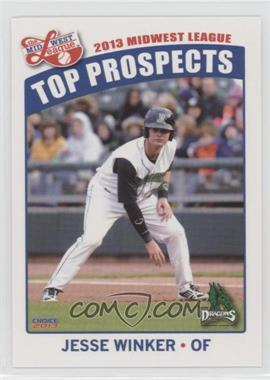 2013 Choice Midwest League Top Prospects - [Base] #12 - Jesse Winker