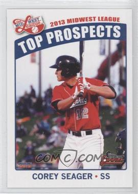 2013 Choice Midwest League Top Prospects - [Base] #15 - Corey Seager