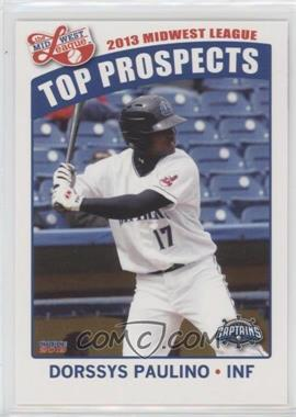2013 Choice Midwest League Top Prospects - [Base] #20 - Dorssys Paulino