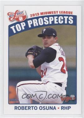 2013 Choice Midwest League Top Prospects - [Base] #22 - Roberto Osuna