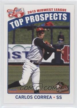 2013 Choice Midwest League Top Prospects - [Base] #25 - Carlos Correa