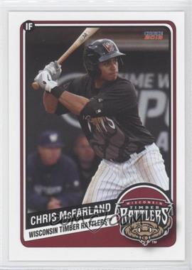 2013 Choice Wisconsin Timber Rattlers - [Base] #16 - Christopher McFarland