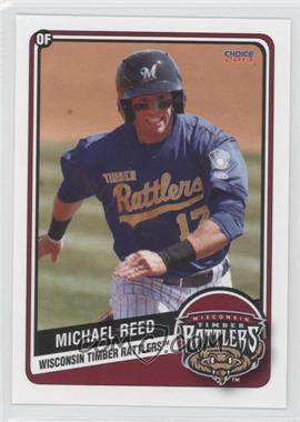 2013 Choice Wisconsin Timber Rattlers - [Base] #17 - Michael Reed