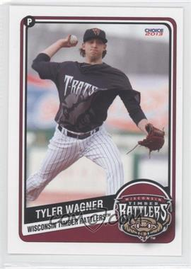 2013 Choice Wisconsin Timber Rattlers - [Base] #26 - Tyler Wagner