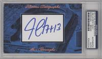 Jim Leyritz /41 [PSA/DNA Certified Auto]